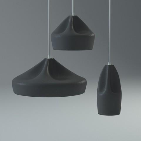 pendant  Pleat Box Lamp by Xavier Ma?osa ( 24 cm )