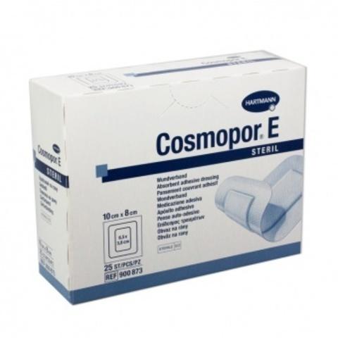 Космопор Е Стерил - Cosmopor E Steril, пластырная повязка с подушечкой, 10х8 см