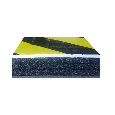 Отбойник на стену (мат) для защиты автомобиля. Толщина 38 мм. Размер 1000х250 мм