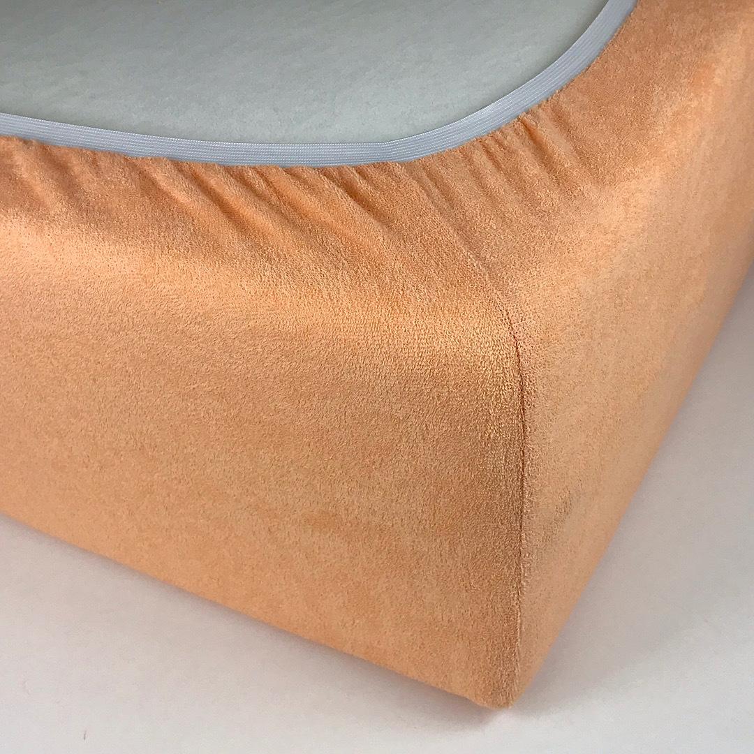 STANDART - Двуспальная махровая простыня на резинке 160х220