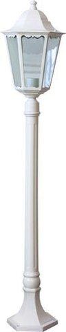 Светильник садово-парковый, 100W 230V E27 белый, 6210 (Feron)