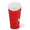 Зимний конверт в коляску Esspero Maris Plus (с натуральным мехом) Red