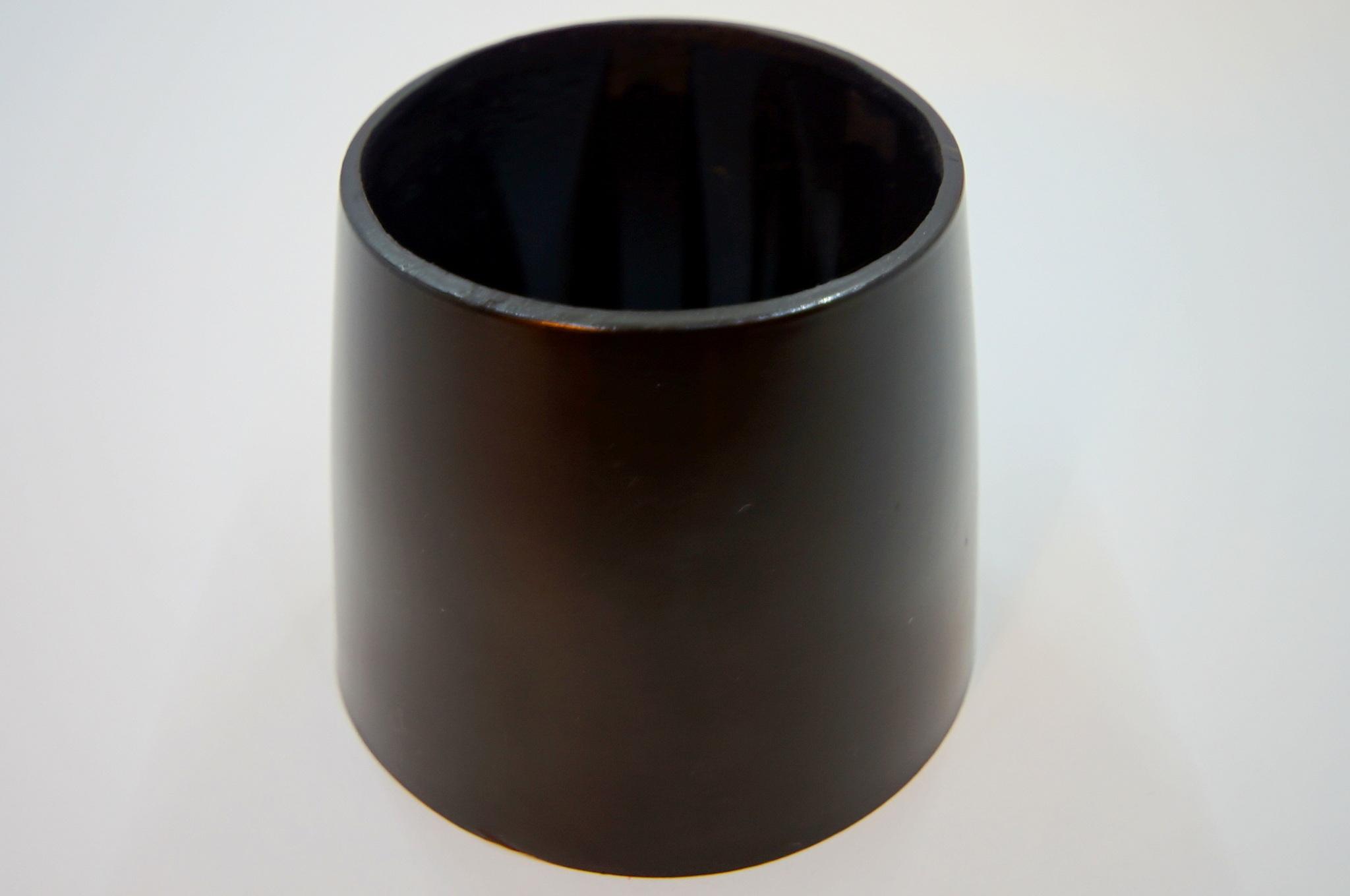 Чашка рулевой колонки Москвич 402-407 черная без выреза