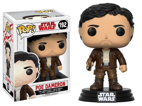 Фигурка Funko POP! Bobble: Star Wars: E8 TLJ: Poe Dameron (POP 6) 14747