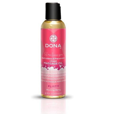 Массажное масло Dona Flirty - Blushing Berry