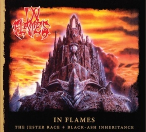 IN FLAMES – The Jester Race + Black – Ash Inheritance