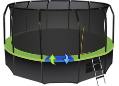 Батут Hasttings Sky Double 16 FT (4, 88 м)