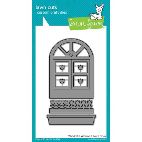 НОЖИ Lawn Fawn Cuts Custom Craft Die  - Wonderful Window