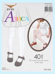 834 FUTE колготки детские, белые