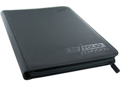 9-Pocket ZipFolio XenoSkin Black