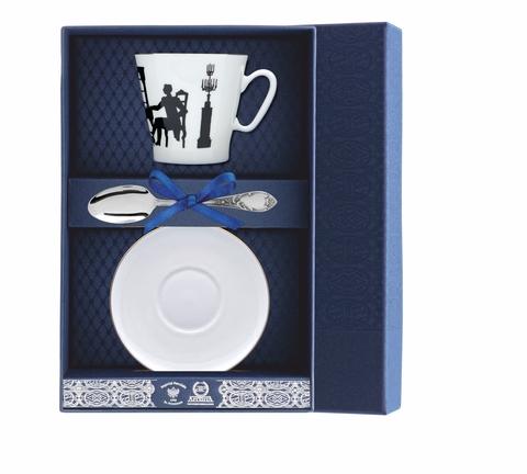 Набор кофейный «Черный кофе-Вдвоем» 3пр.