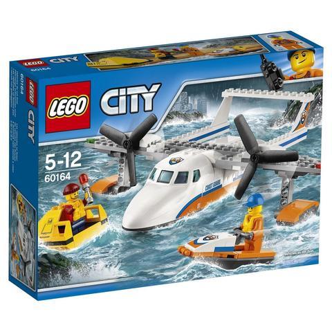 LEGO City: Спасательный самолет береговой охраны 60164 — Sea Rescue Plane — Лего Сити Город