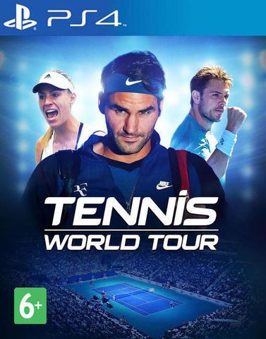 PS4 Tennis World Tour (русские субтитры)
