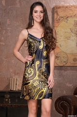 Сорочка женская шелковая MIA-Amore  ARMANI GOLD  АРМАНИ ГОЛД 3491