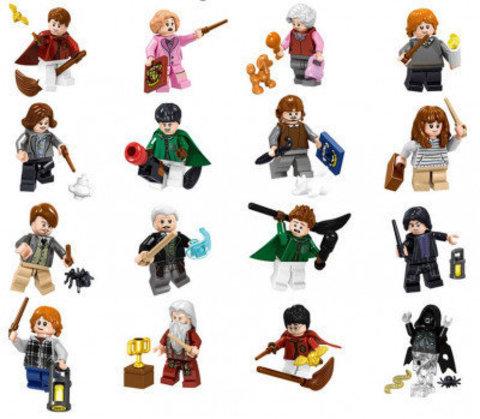 Набор 16 минифигурок Гарри Поттер и Фантастические твари Lele 39171