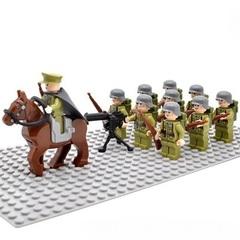 Минифигурки Военных Китайская Армия серия 333