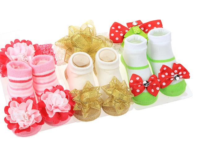 362 носочки для девочек с резиночкой, ассортимент
