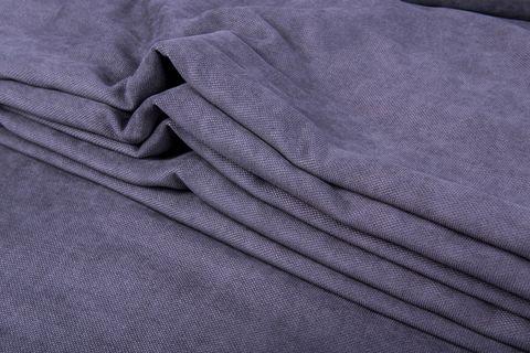 Штора готовая однотонная из портьерной ткани   цвет: пурпурно-синий   размер на выбор