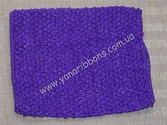 Ажурный топик фиолетовый