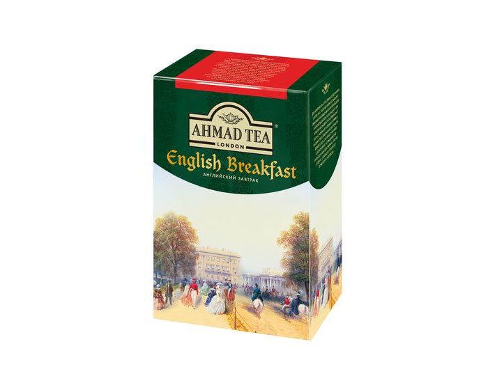 Чай черный листовой Ahmad Tea Английский Завтрак, 100 г (Ахмад)