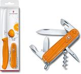 Набор ножей Victorinox Color Twins 2шт оранжевый блистер (1.8901.L9)