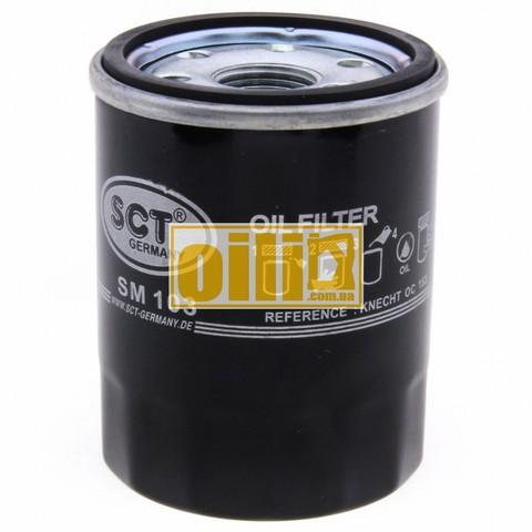 Фильтр масляный SCT SM103 (Ford, KIA, Mazda)