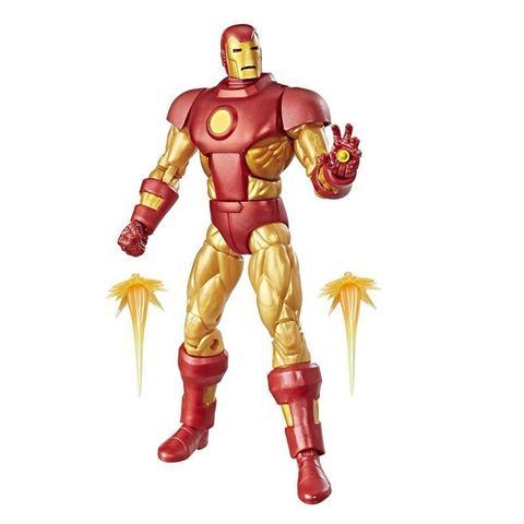 Фигурка Железный Человек (Iron Man) Ретро - Marvel Legends, Hasbro