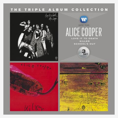 Alice Cooper / The Triple Album Collection (3CD)