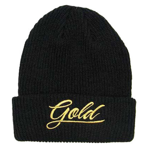 Шапка GOLD We G (Black)