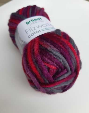 Пряжа шерсть для валяния Filzwolle Color 24 купить