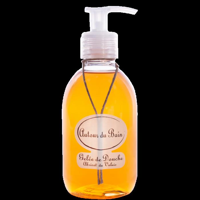 Autour Du Bain Гель для ванны и душа • Abricot du Valais / Абрикос Вале • 250 мл (Гели и масла для ванны и душа)