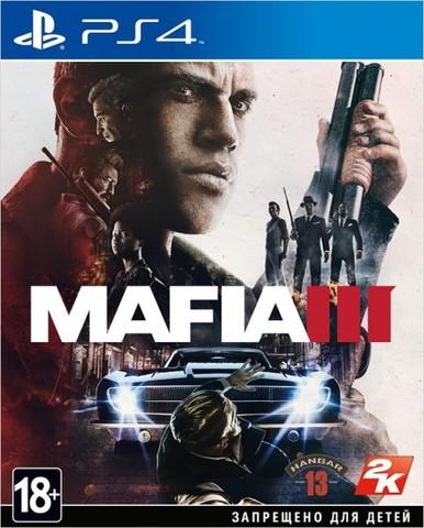 Sony PS4 Mafia III (русские субтитры)