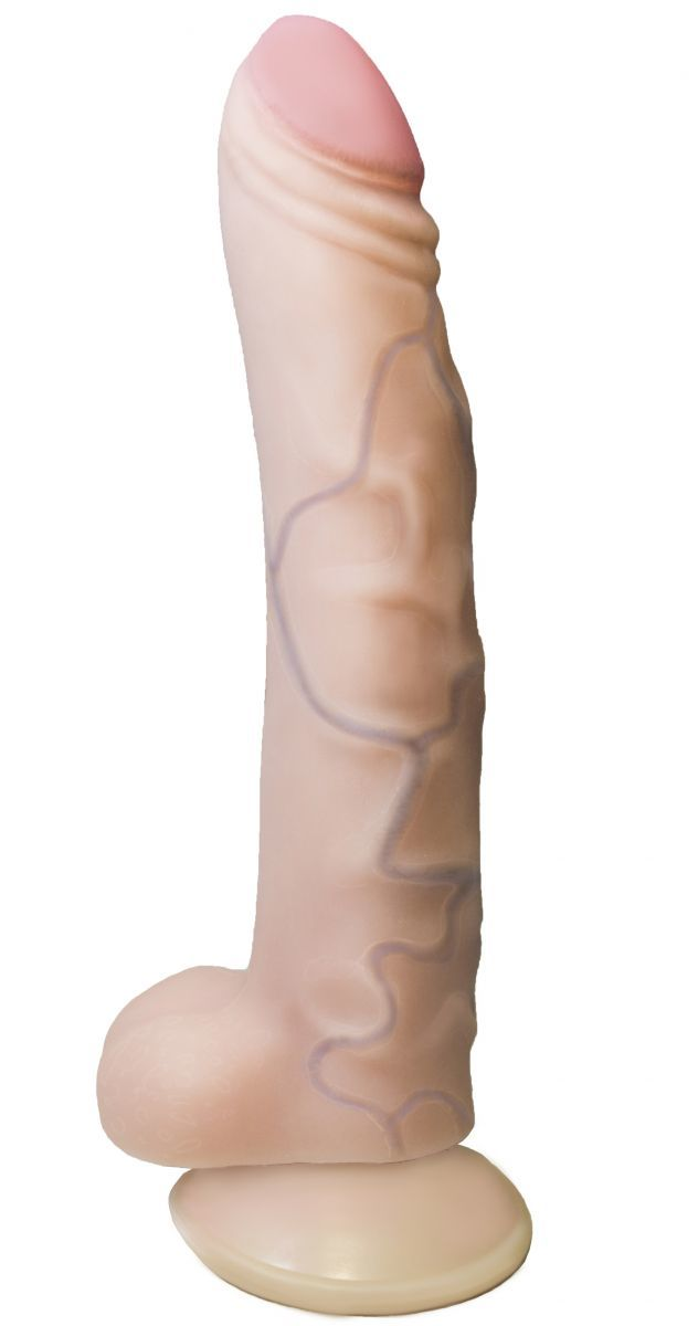 Реалистики: Вибратор REAL Standard с присоской - 17 см.