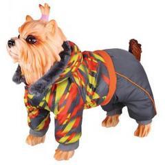 Комбинезон для собак, DEZZIE, 20 см, девочка, полиэстер, синтепон