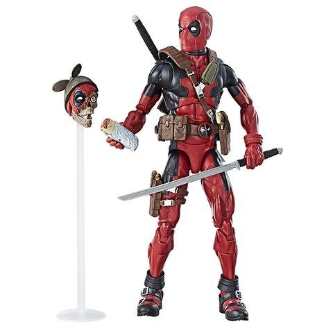 Фигурка Дедпул (Deadpool) с Оружием и Масками  - Marvel Select, Hasbro