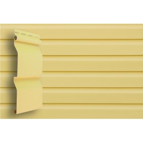 Сайдинг Виниловый Grand Line Slim D4 Золотой песок Premium