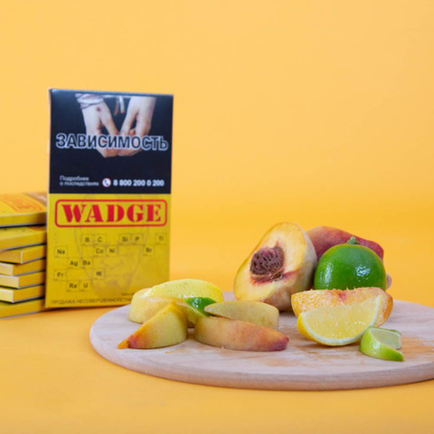Табак Wadge Titanium Citrus Peach 100 г