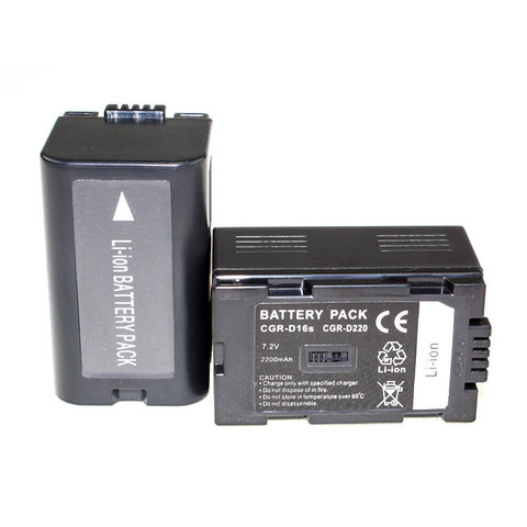 Аккумулятор CGR-D220/CGR-D16S батарея для камер Panasonic (c)