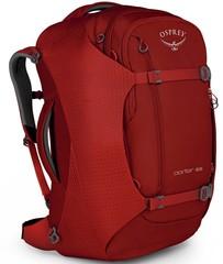 Сумка-рюкзак Osprey Porter 65 Diablo Red