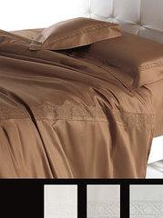 Постельное белье 2 спальное евро Cesare Paciotti Vienna кремовое