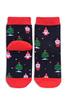Носки детские, махровые Деды Морозы