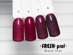 Гель лак Fresh Prof Black Star 10мл №08