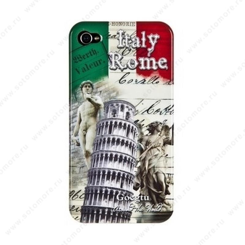 Накладка Goegtu для iPhone 4s/ 4 ROME
