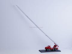 ZIL-131 AL-30 fire engine red Start Scale Models (SSM) 1:43