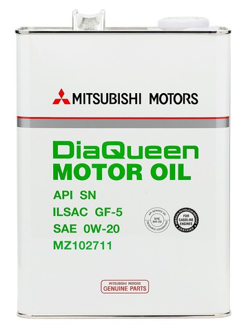 MITSUBISHI DIA QUEEN 0W20 SN Масло моторное (железо/Япония)
