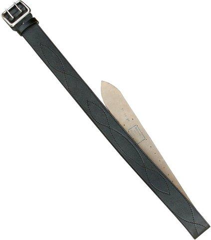 Ремень офицерский чёрный 50 мм