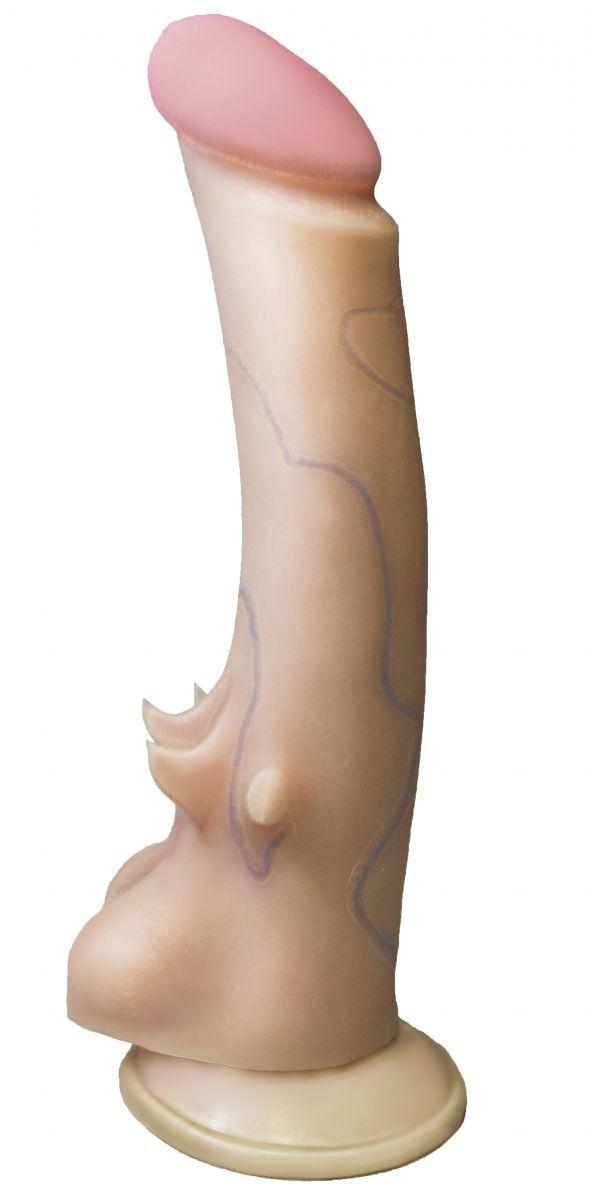 Реалистики: Вибратор REAL Standard на присоске - 15,5 см.