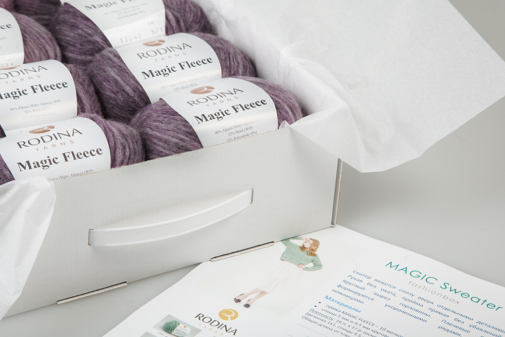 MAGIC SWEATER Fashionbox by Rodina Yarns