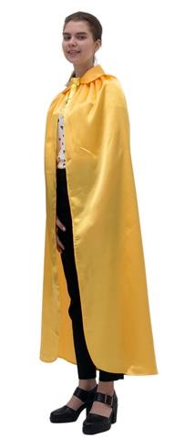 Плащ жёлтый с воротником