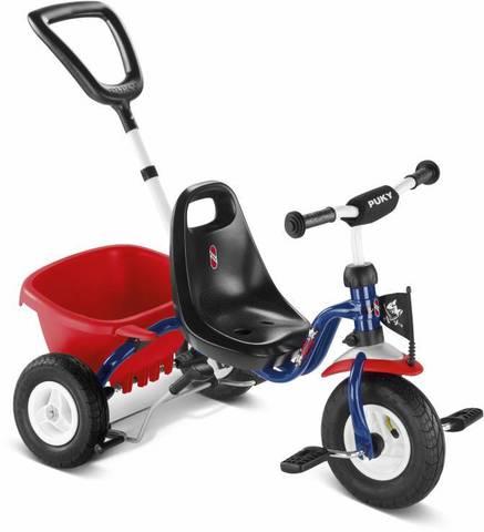 Трехколесный велосипед Puky CAT 1L Капитан Шарки синий